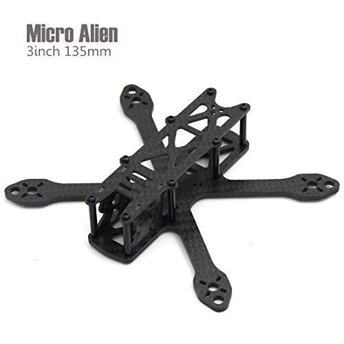 Micro Alien 3inch 135mm one Plate Bottom Mini Quadcopter Frame Drone