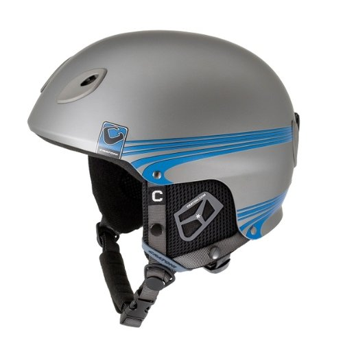 Ski-und Snowboardhelm Cratoni Pemperton Race anthracite black blue matt