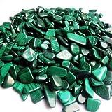 ILS – 100 g piedras naturales malaquita burratas, piedras preciosas decorativas pulidas Reiki