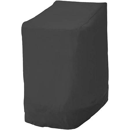 VIFER Copertura dellombrello 210D Oxford Cloth Copertura dellombrello Nera Impermeabile Anti-UV Anti-Polvere Uso Esterno 1 PZ 190x50x30