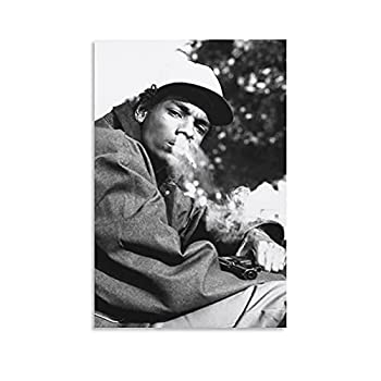 Snoop Dogg Old School Rapper Poster Canvas Art Poster and Wall Art Picture Print Modern Family Bedroom Decor Posters 12×18inch 30×45cm