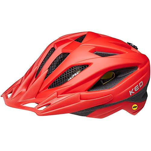 KED Street MIPS Helm Kinder Fiery red matt Kopfumfang M | 53-58cm 2021 Fahrradhelm