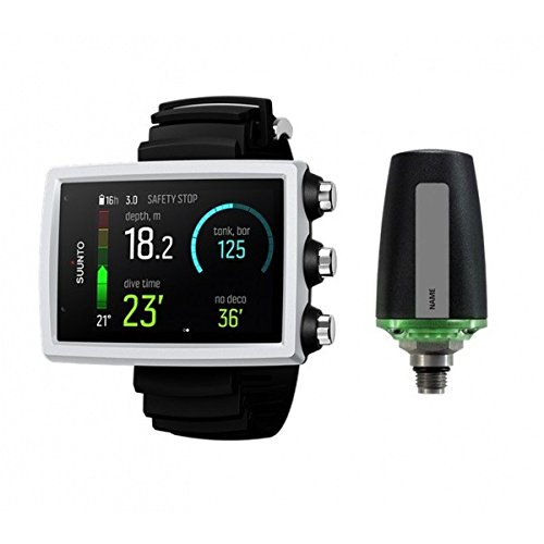 SUUNTO Eon Core Wrist Dive Computer - White with Transmitter and USB 1