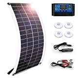Solar Panel 25W 18V 12V Bendable Flexible,Solar Car Battery...