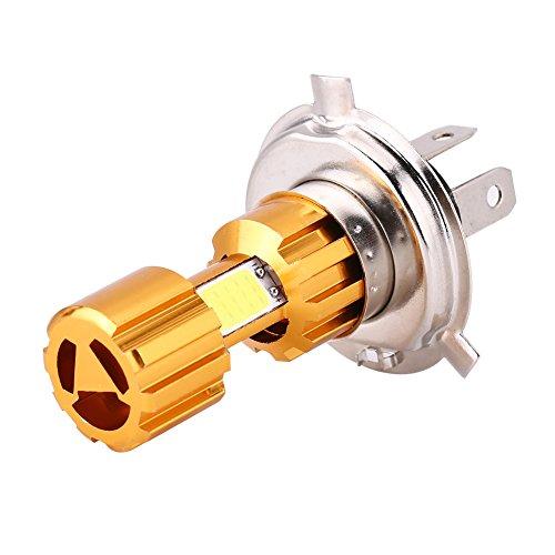 H4 LED Bombillas de los Faros de la Moto, 12V 18W luz h4 Universal COB Lámpara