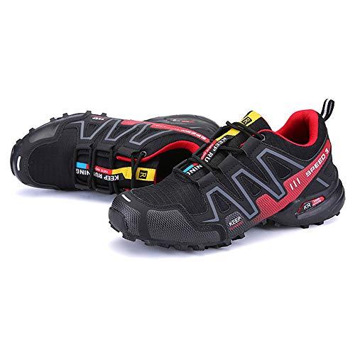Shoes Fahrradschuhe für Damen und Herren, atmungsaktive schlossfreie Reitschuhe, Wanderschuhe in freier Wildbahn, für Outdoor-Sportarten geeignet, ZDDAB