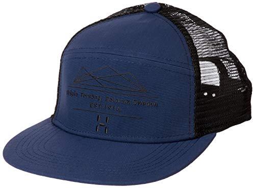 Haglöfs Unisex Trucker Baseball Cap, Blau (Tarn Blue/True Black 3YC), One Size (Herstellergröße: Única)