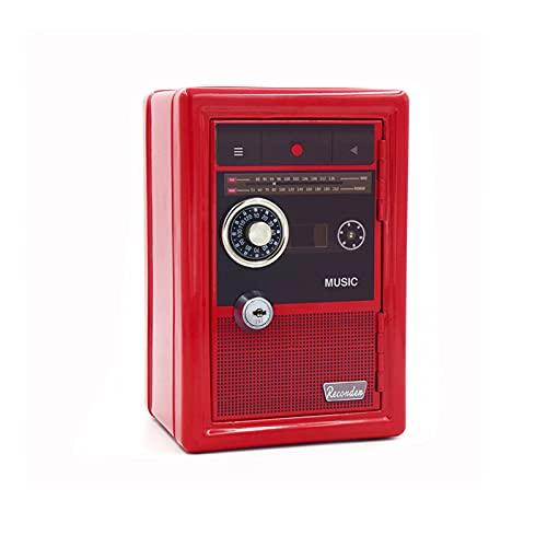 Cajas fuertes Alupre, caja organizadora con cerradura de seguridad, monedas, joyería, llave, caja de almacenamiento en efectivo