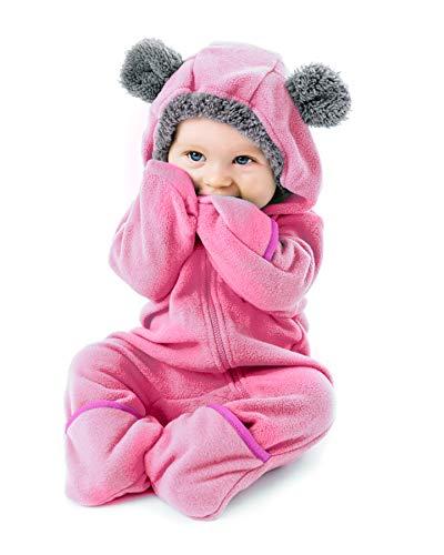 Fleece Baby Bunting Bodysuit – I...