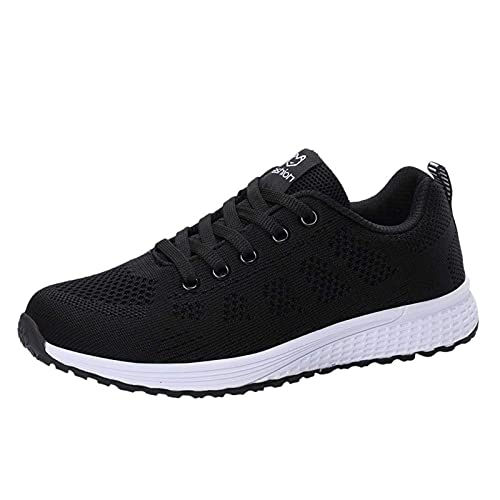 CYGGA Lichte gymschoenen voor dames, ademend, zachte sportschoenen, casual schoenen, loopschoenen, sneakers, wandelschoenen, mesh, sport, vrijetijdsschoenen, hardlopen, wandelschoenen, platte schoenen