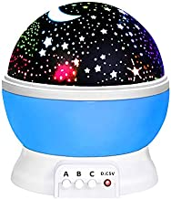 ATOPDREAM Fun New Cool Toys for 2-10 Year Old Boys Girls , Wonderful Quiet Romantic Starlight for Kids Toys for 2-10 Year Old Boys Birthday Presents Gifts for 2-10 Year Old Girls Blue TSUSXK001