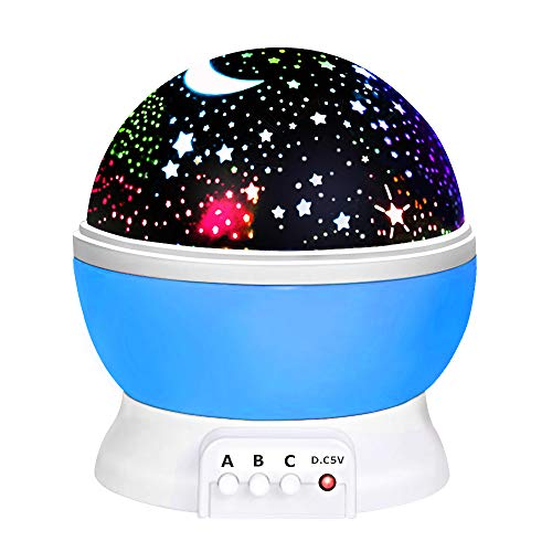 ATOPDREAM Fun New Cool Toys for 2-10 Year Old Boys Girls Kids, Wonderful Quiet Romantic Starlight for Kids Toys for 2-10 Year Old Boys Birthday Presents Gifts for 2-10 Year Old Girls Blue TSUSXK01
