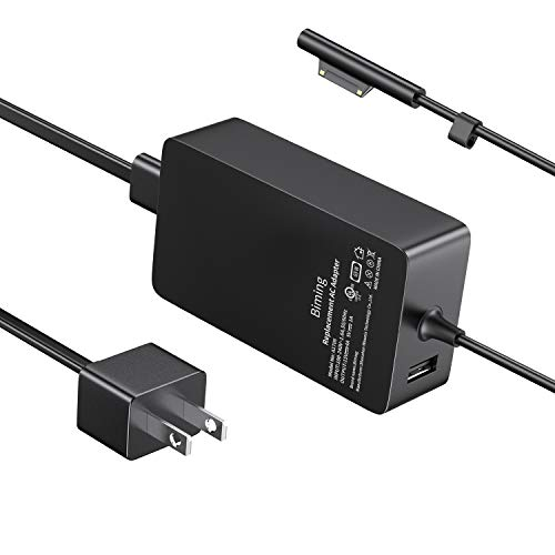 (Upgraded 2020) Surface Pro Charger,Biming 65W Power Supply Adapter Compatible with Microsoft Surface Pro X Pro 7 Pro 6 Pro 5 Pro 4 Pro 3 Surface Laptop 1 2 3 Surface Go (2) Surface Book (2)