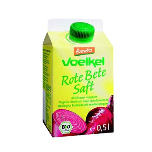 Voelkel Bio Rote Bete Saft - Direktsaft, milchsauer vergoren (2 x 500 ml)