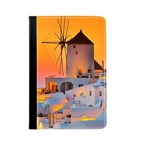 Thinness Girl Printing Santorini Use On Apple Ipad 2 3 4 Phone Cases Plastic Choose Design 113-2