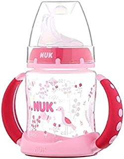 NUK Learner Sippy Cup, Pink Birds