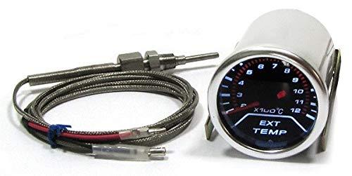 Tenzo-R 37521 Abgas Temperatur Anzeige Zusatz Instrument Tenzo Race