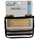 BlueAvocado Not Available Zip Seal Snack Bag, 3 CT
