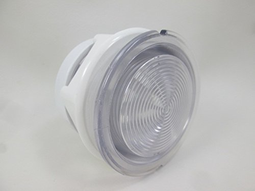Spa Hot Tub Clear Light Lens 3 1/4' Face 2 5/8' Hole How to Video Lense