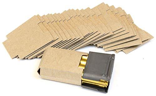 AmmoGarand 24ea Cardboard Inserts for Garand Bandolier use with EN-BLOC Clips