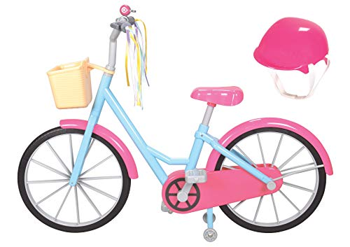 """Kindred Hearts Dolls 18"""" Bicycle and Helmet"""