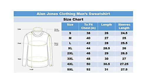 Alan Jones Clothing Men's Cotton Hooded Sweatshirt 7 41YLrqkD0sL