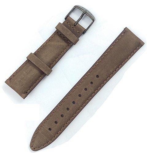 Timex Uhr T2N957Leder braun 20mm Gurt (nur Uhr Armband–Uhr Nicht enthalten.)