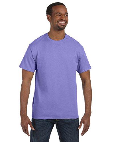 Gildan Men's Heavy Cotton Short Sleeve T Shirt Violet XL