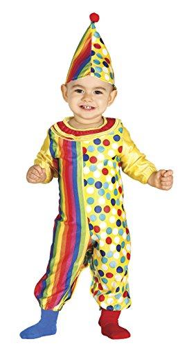 Guirca- Disfraz 12-24 meses Payaso Baby, u (85972.0)