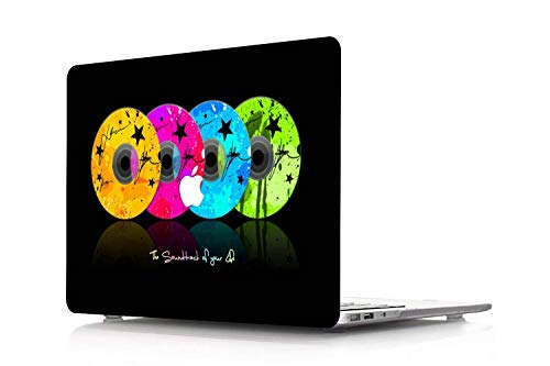 NEWCENT Newest MacBook Air 13' Case,Plastic Ultra Slim Light Hard Case for Newest MacBook Air 13 inch with Retina Display Touch ID 2018 2020 Release(Model:A1932/A2179),Creative A 15