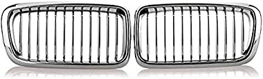 MDYHJDHYQ Front Air Grille Grills for BMW E38 740 750 98 99 2000 2001 Chrome Car Kidney Grills Grilles Car Accessories