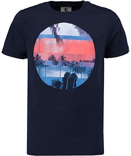 Garcia Kids Jungen T-Shirt , Blau (Dark Moon 292) , 152-158