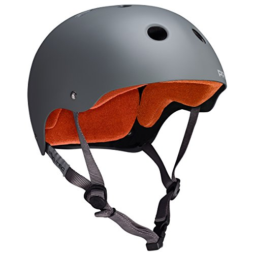 Pro tec Classic Skate Helm, Herren Damen Kinder, 121230204, Gloss White, M