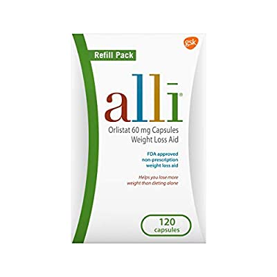 alli Weight Loss Diet Pills, Orlistat 60 mg Capsules by alli