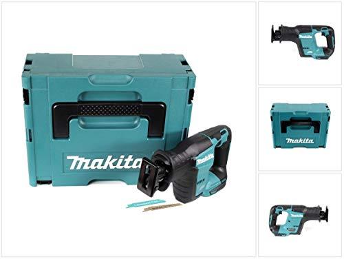 Makita DJR 188 ZJ Akku Reciprosäge 18 V Brushless Säbelsäge Solo im Makpac - ohne Akku, ohne Ladegerät