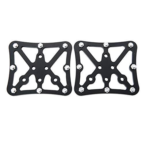JINSUO GWTRY MTB Pedales Automáticos Convertir Adaptador de Plataforma for el Sistema de Bicicletas Adaptador Clip Pedal (Color : Black)