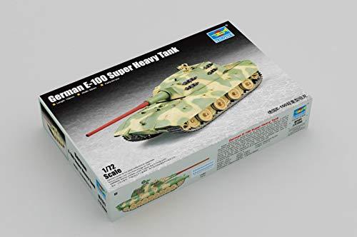 Trumpeter 007121 1/72 E100, Schwerer Panzer