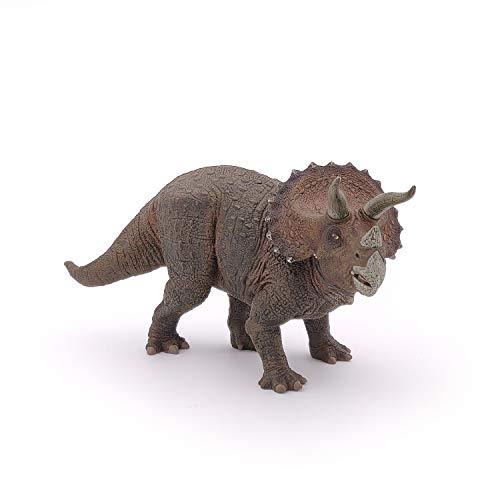 Esemebe Figura Dinosaurio Triceratops 22X6,3X10,5CM, Multicolor (Papo 2055002)