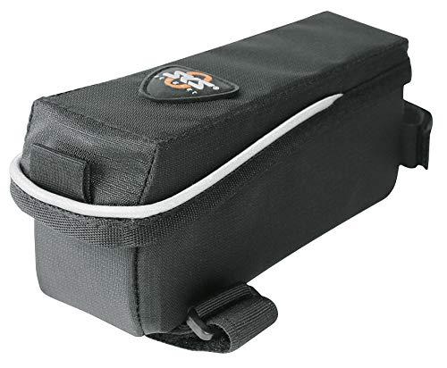 SKS GERMANY ENERGY BAG Fahrradtasche, Fahrradzubehör (Tasche aus wasserabweisendem Gewebe, mit reflektierenden Elementen, Steuerrohr-Tasche, Volumen: 500 ml, Gewicht: 81 g), Schwarz