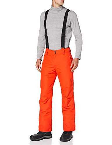 Brunotti Footstrap FW1920 Mens Snowpants Bas, Orange Ardent, XL Homme