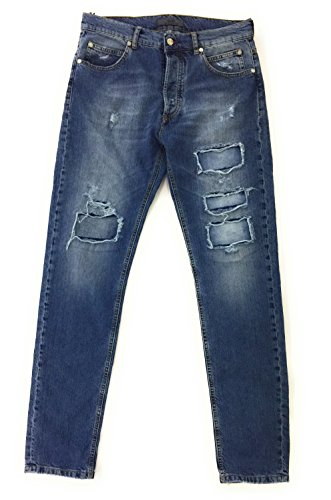CESARE PACIOTTI 4US,Jeans Denim Blu,Uomo (54)
