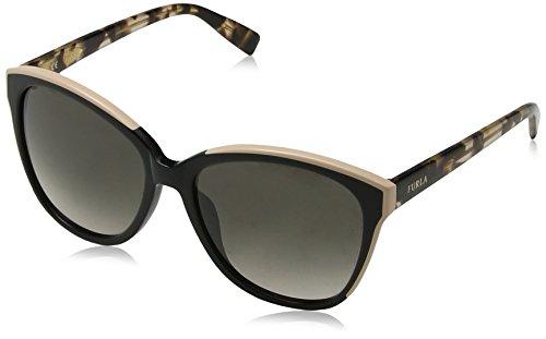 Furla SFU136-700Y Gafas, negro rosa, 56/16/140 para Mujer