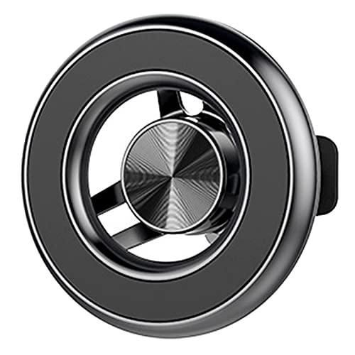 IPOTCH Soporte magnético del teléfono del montaje de la ventilación del aire del coche rotación de 360 ° ajustable para, fijación rápida - Grey