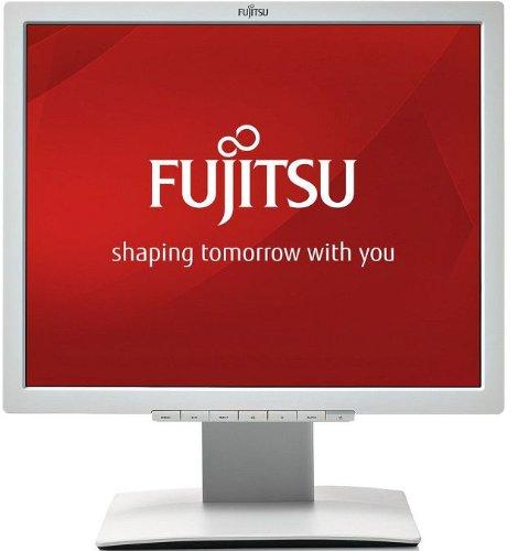 Fujitsu B19-7 48.26 cm (19 Zoll) LED Monitor (DVI,D-Sub, 8 milliseconds) hellgrau