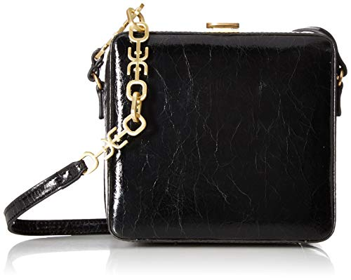 Sam Edelman Alice Cube Shoudler Bag, Black