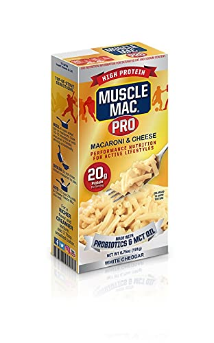 Muscle Max 57% OFF Mac PRO Macaroni Cheese - Real With Made overseas White Cheddar