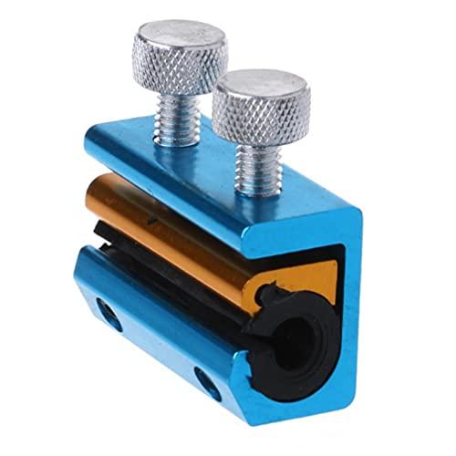 ABOOFAN 1 Pieza de Herramienta de Lubricación de Cable para La Motocicleta Duradera Engrasadora de Alambre de Motocicleta (Azul Cielo)