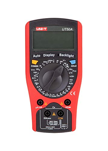 UNI-T multimetro AC/DC misuratore, ut50a