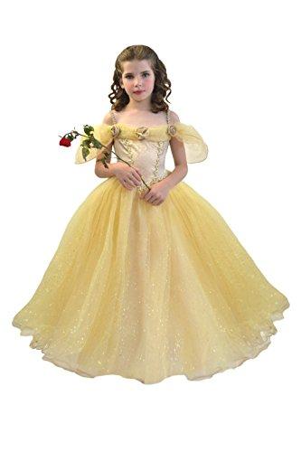 Cesar F662 kostuum prinses Belle, 5/7 jaar