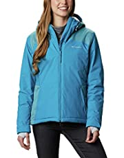 Columbia Tipton Peak Insulated Chaqueta De Esquí Con Capucha Mujer